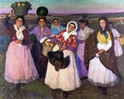 La fiesta del Pueblo por Eugenio Hermoso