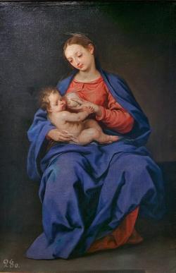 Virgen de la Leche de Alonso Cano (Museo de Guadal