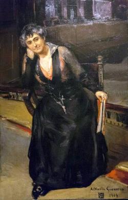 Retrato de María Guerrero