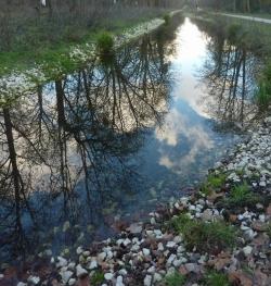 """Thème """"plan d'eau avec légende"""""""