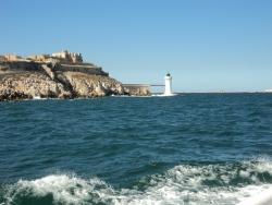 Départ Île Pomègue