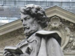 buste de Gavarni Place St Georges