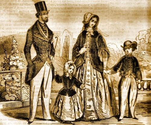 Père Le À D'éléphants; Mode En 1845Autour Du La Pantalon Jambes c5Aq4Rj3L