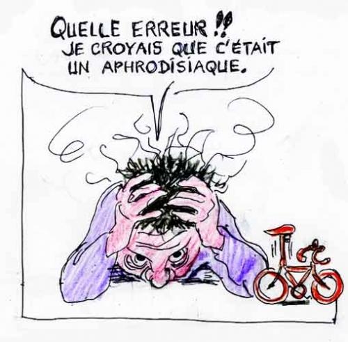 Le mari de jeannie longo bar zing - Dessin cycliste humoristique ...