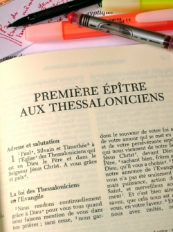 Des Thessaloniciens inquiets ...