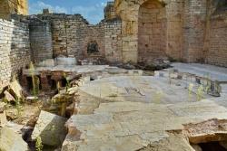 Les thermes d'Hadrien