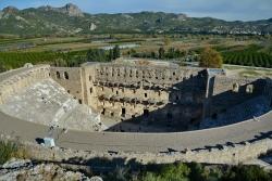 Le site d'Aspendos