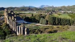 L'aqueduc d'Aspendos