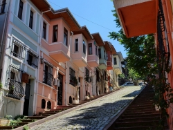 Maisons colorées de Balat et Fener