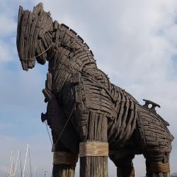 Le Cheval de Troie de Canakkale