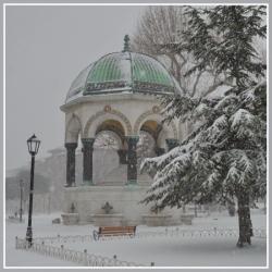 Istanbul sous la neige, janvier 2017