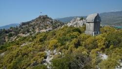 Les tombes lyciennes de Kaleucagiz