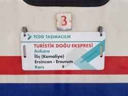 """Le """"Doğu Ekspresi"""" jusqu'à Kars"""