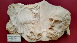 Fragment du Mausolée d'Halicarnasse