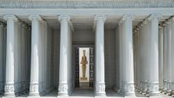 Reconstitution du temple d'Artemise à Ephèse