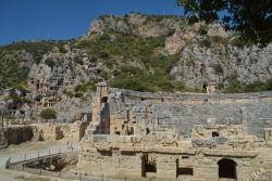 Le théâtre antique de Myre