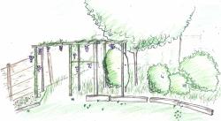aménagement d'un petit jardin
