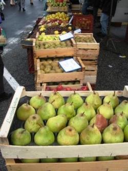 Des pommes, des poires...