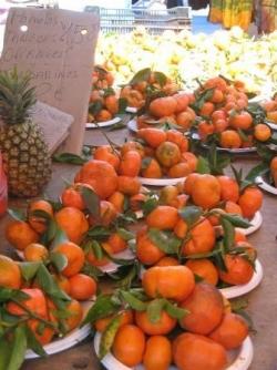 Oranges sur le Marché de Saint Pierre