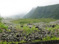 Coulée de lave du côté du Grand Brulé