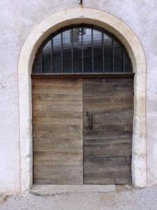 Encadrement de porte dessiné