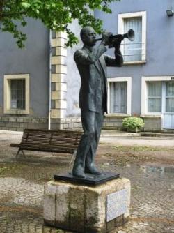 Statue de Wynton Marsalis
