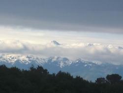 Première vue des Pyrénées