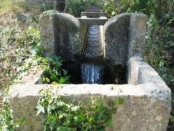 Les eaux du Rhône canalisées