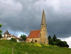 Église gothique d'Auriébat