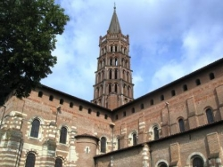 Toulouse Clocher de Saint Sernin