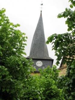 Barran et son clocher hélicoïdal
