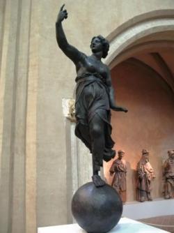 Statue de Dame Tholose 1544