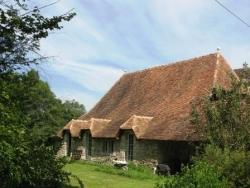 Maison béarnaise en restauration
