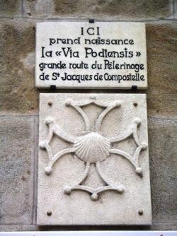 Sur le chemin de Saint Jacques de Compostelle - GR 65