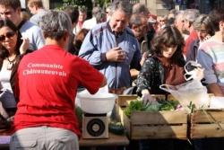 """Manif et marché paysan à Marseille : """"Cassons la dalle"""""""
