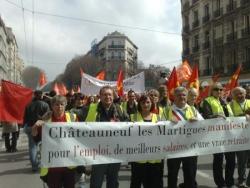 Manif à Marseille du 23.03.10