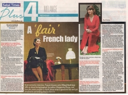 Sakaal Times A French Fair Lady