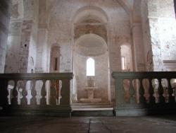 Interior of Benedictine monastery on Mljet