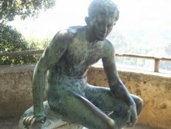Mercury at the Villa Cimbrone