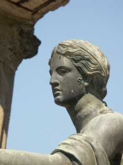 Copy of Apollo statue, Pompeii