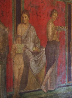 The 'House of the Mysteries' Pompeii