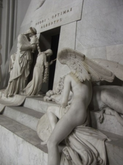 Canova tomb in the Michaelkirche
