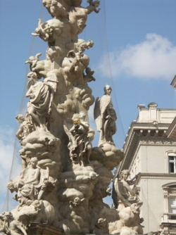 Plague column on Graben
