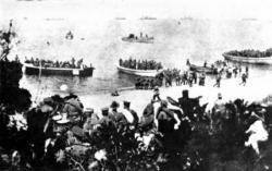 Qu'est devenu le bataillon de Norfolk ?