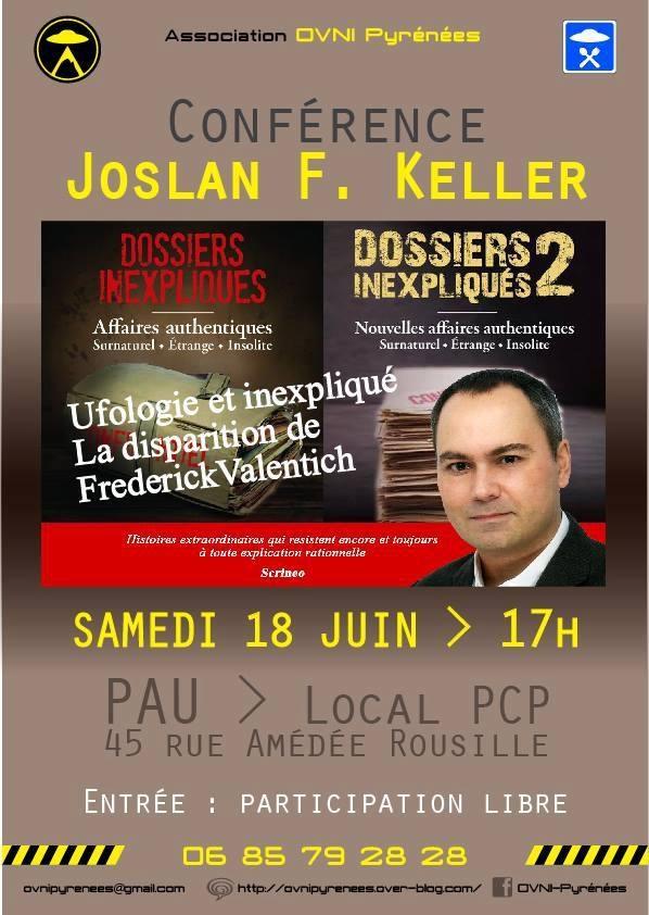 2  Promotion et dédicaces - Les Dossiers Inexpliqués de Joslan F  Keller