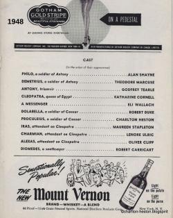 ANTOINE ET CLEOPATRE (1948)