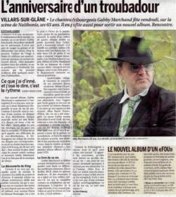 """Dans """"La Liberté"""" - article"""