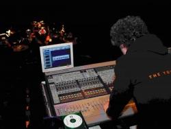 4. Bertrand Siffert : ingénieur du son au travail