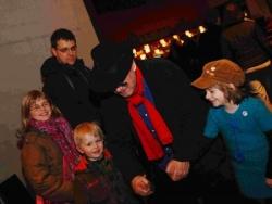 19. la fête à grand-papa: Clémence, Adrien, Julie