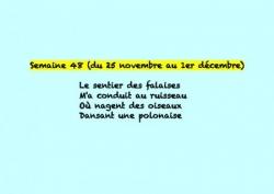 Semaine 48